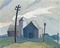 farm buildings by leonard hutchinson