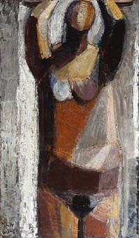nude woman by kirsten lockenwitz