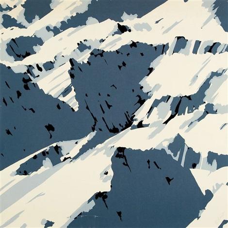 schweizer alpen motiv b 1 by gerhard richter