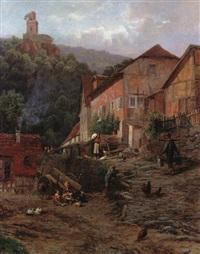 burg falkenstein - ein gehöft im taunus by richard fresenius