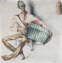 der akkordeonspieler by alex wauters