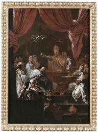 battesimo by francesco solimena
