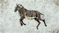 zebra by pino pascali