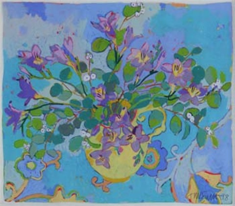 blue moon freesias by tanya short