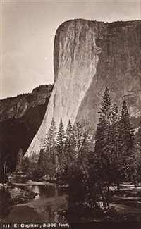 el capitan, 3,300 feet (b 411) (+ 6 others; 7 works) by isaiah west taber