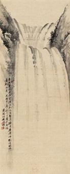 山水 (landscape) by hu tiemei