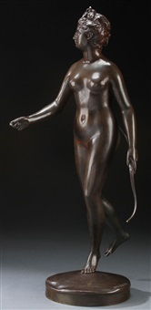 diana by jean-antoine houdon