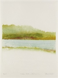 silken lake (set of 4) by sheila benow