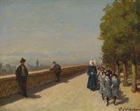 le orfanelle a passeggio by giuseppe colonello