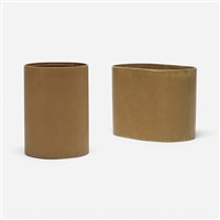 pair of wastepaper baskets from 860 lake shore drive, chicago (pair) by don powell and robert kleinschmidt