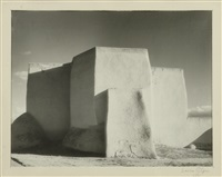 ranchos de taos church by laura gilpin