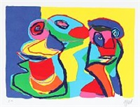 composition by karel appel