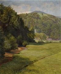 landschaft by ferdinand otto leiber