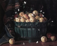 cesto con manzanas by alfono grosso