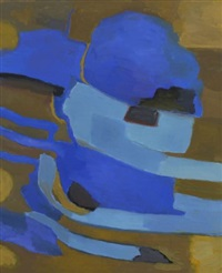komposition in blau by felix jacob