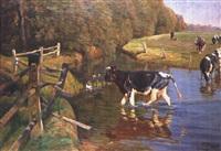 am reschenbach by oskar frenzel