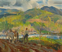 ploughing the fields by macivor reddie