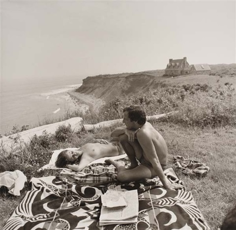 peter beard montauk point by larry fink