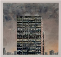 untitled (skyscrapers) by gustaf miller