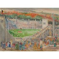 michie stadium, west point by palmer cole hayden
