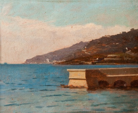 côte ligure by francois louis david bocion