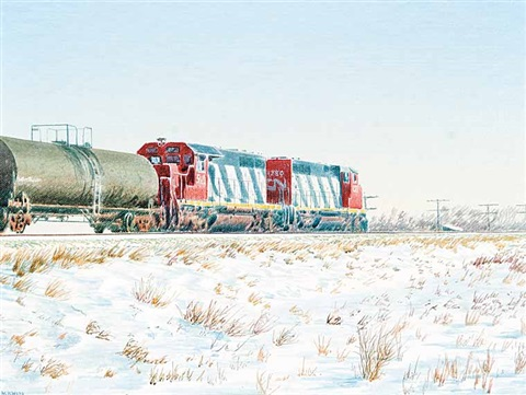 eastbound freight by william bill h webb