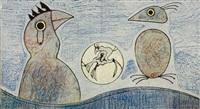 deux oiseaux by max ernst