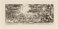 les grandes misères de la guerre (portfolio of 18, some lrgr) by jacques callot