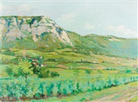 landschaft bei genf by edouard elzingre