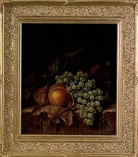 still life with fruit by frederick s. batcheller