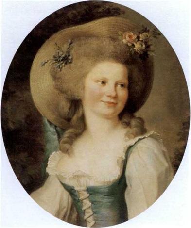 portrait de madame dugazon dans le rôle de babet by adélaïde labille guiard