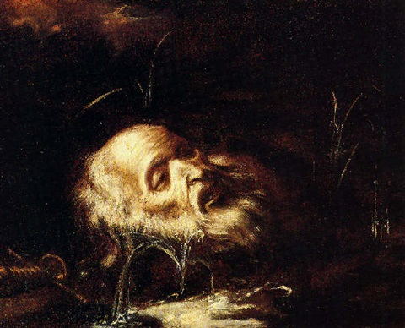 la testa di s paolo by agostino scilla
