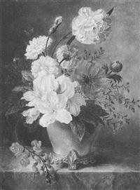 floral still life by anthony oberman