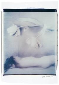 sleeping beauty and flowers by joyce tenneson
