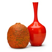vases (2 works) by polia pillin