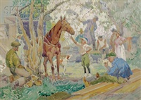 the thoroughbred by alfred conway peyton