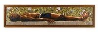 the dead christ in the tomb by kehinde wiley