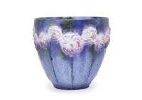 vase: small rose by gabriel argy-rousseau