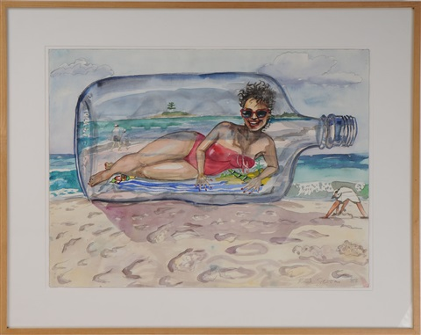 la bouteille à la mer by red grooms