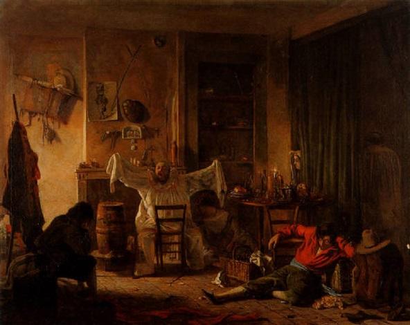 scène datelier by antoine jean bail