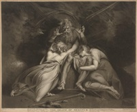 the death of oedipus (+ 3 others; 4 works) by william ward i