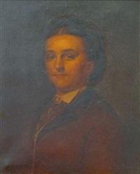 portrait d'une dame by pierre louis de coninck