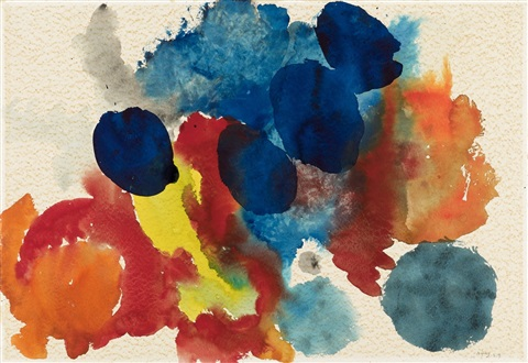untitled by ernst wilhelm nay