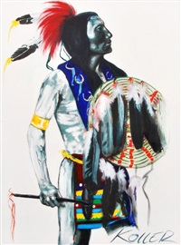 chief goes to war (lakota) by helmut koller
