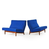 settees (pair) by jens risom