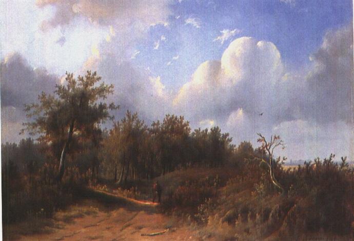auf dem heimweg by franciscus antonius de haan