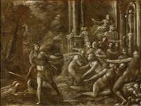 scena mitologica by vincenzo mannozzi
