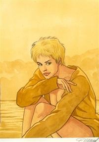 jessica blandy (cover for magazine dbd) by renaud denauw