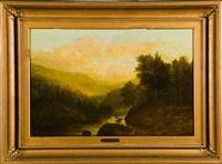 summer landscape by william morris hunt
