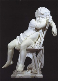 slapende jongen by antonio argenti